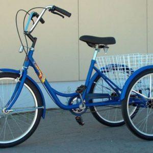 Kolmerattaline pedaalidega jalgratas